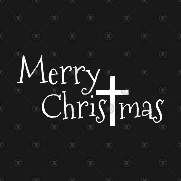 Merry Christmas Christian.Merry Christmas Jesus Christ Cross
