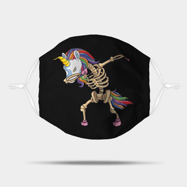 Dabbing Unicorn Skeleton