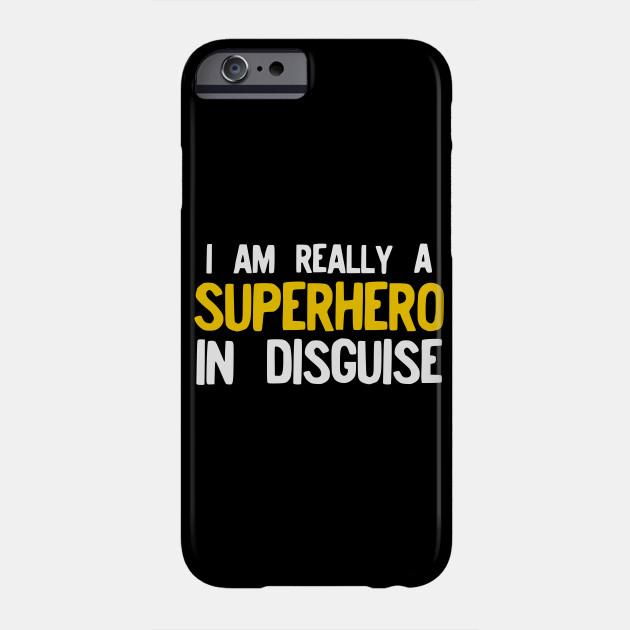 Superhero Costume Funny Pajama Halloween design Gift Idea Phone Case
