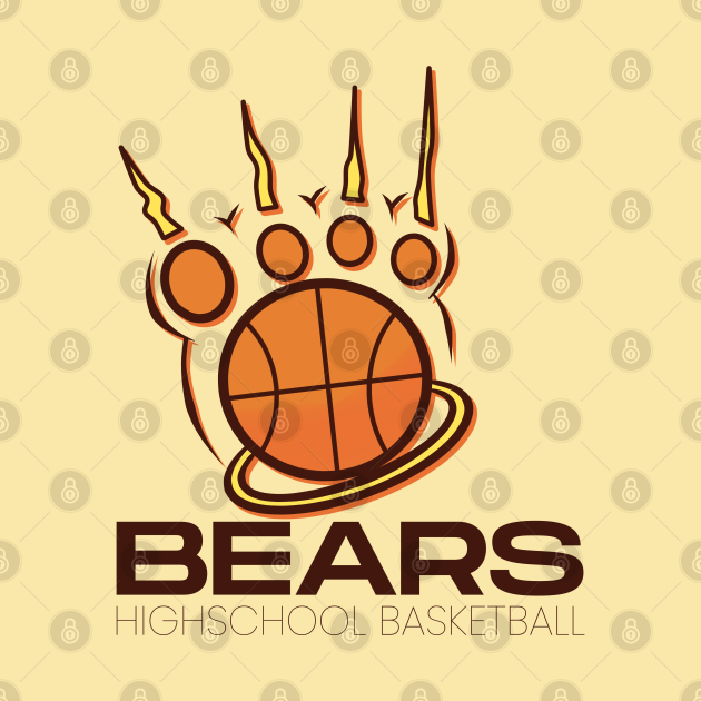 Bears Elder Box Highschool Basketball Montana State Sports Logo Design Alternative