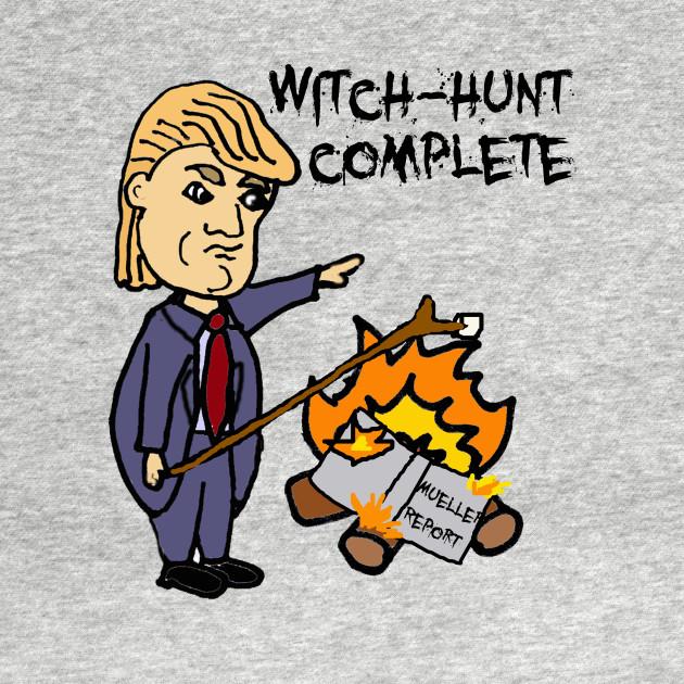 Funny Trump Mueller Report Political Satire Donald Trump Long