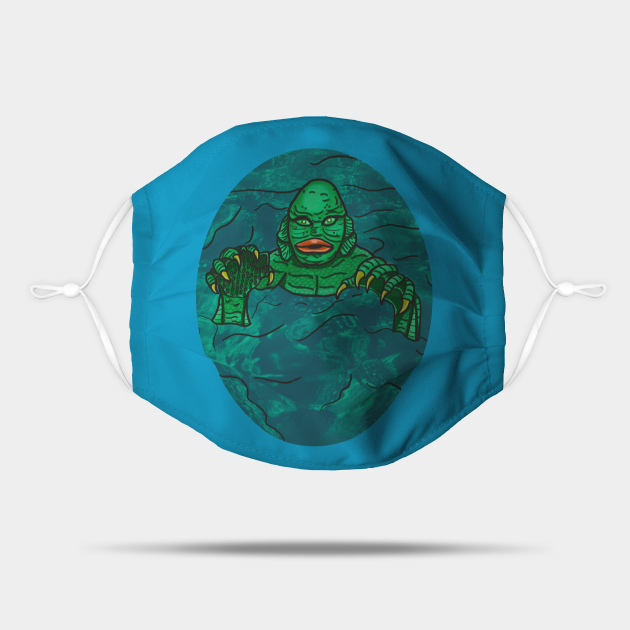 The Creature Oval- Color
