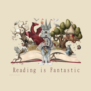 Reading is Fantastic t-shirts