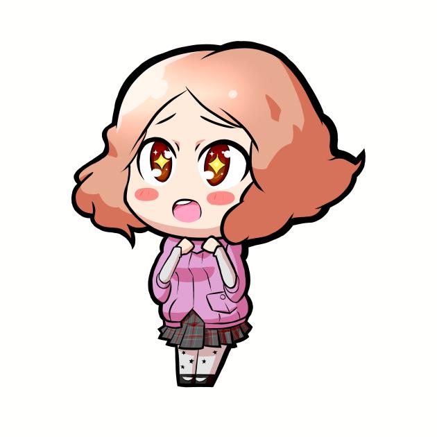 Chibi Haru Okumura - Persona 5