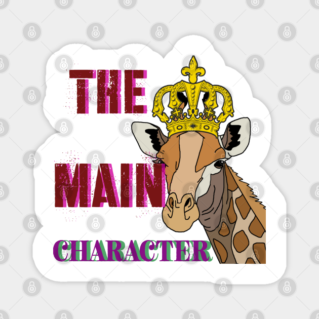 THE MAIN CHARACTER