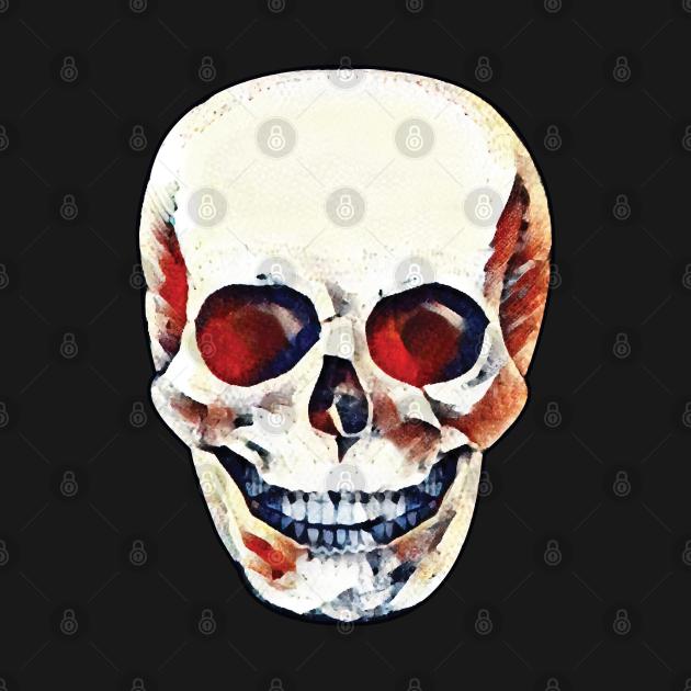 Red-Eyed Skull