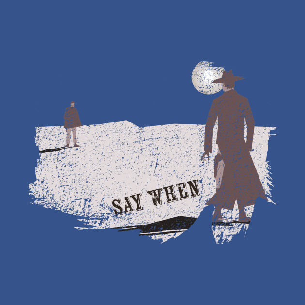 Say When distressed