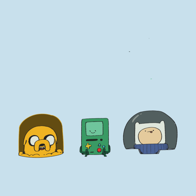 """Adventure Time in space """"without text"""""""
