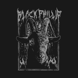 Black Metal Phillip t-shirts