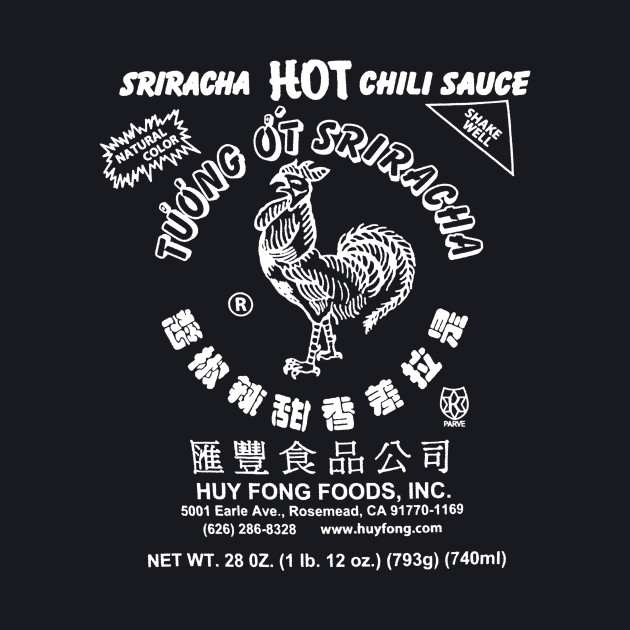Spicy Rooster for dark shirts