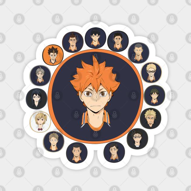 Haikyuu!!: Karasuno High - All Characters