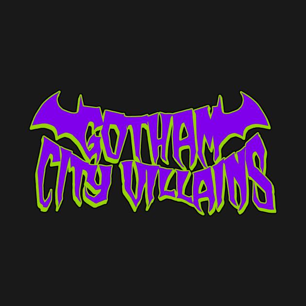 Gotham City Villains (joker colors)