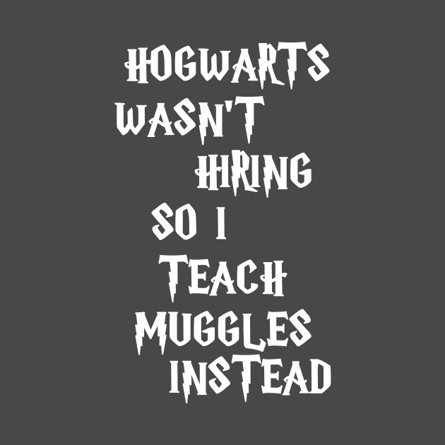 I Teach Muggles