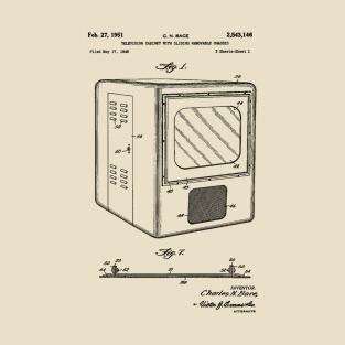 Television Patent 1949 t-shirts