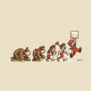 8-Bit Evolution t-shirts