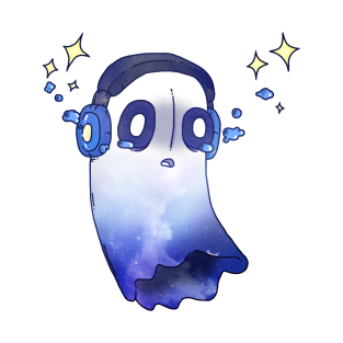 Undertale Napstablook Galaxy (Outertale) t-shirts