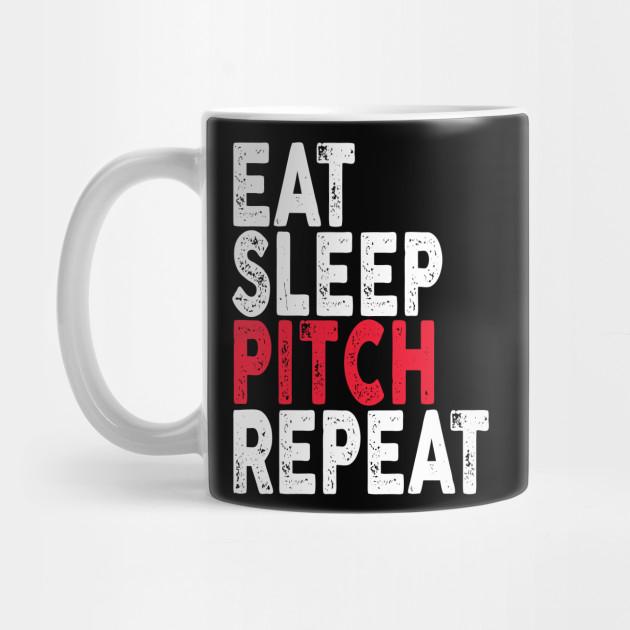 2fd2a3eb6b2 Eat Sleep Pitch Repeat Baseball Softball - Eat Sleep Pitch Repeat ...