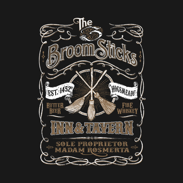 The Three Broomsticks Inn amp Tavern Harry T Shirt