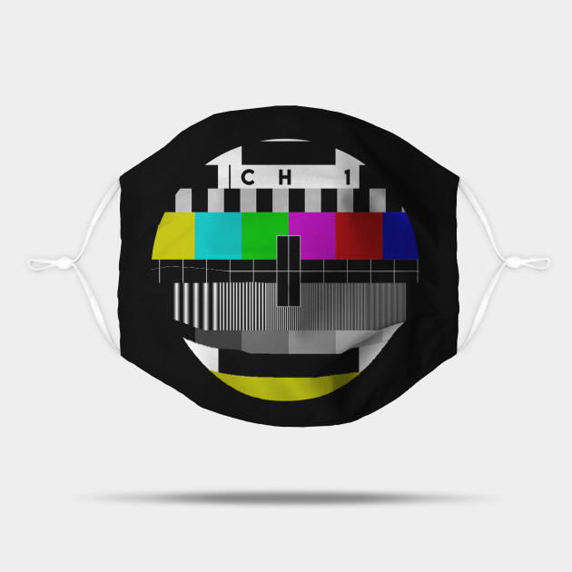Old school tv test pattern