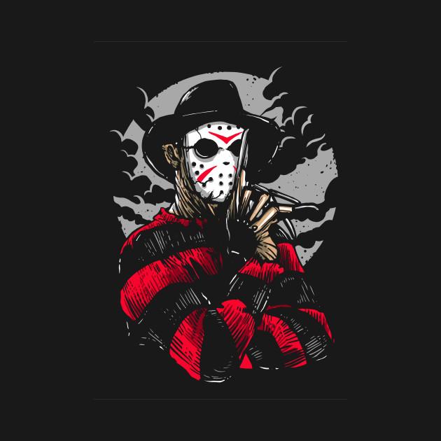 Freddy Vs Jason Freddy Krueger T Shirt Teepublic