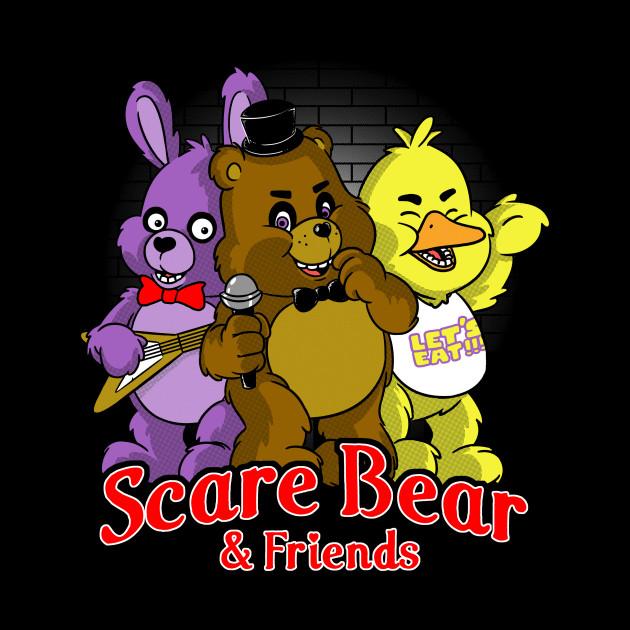 Freddy scare bear