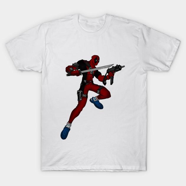 511c1a88a1d5 Deadpool - Crocs - Deadpool - T-Shirt