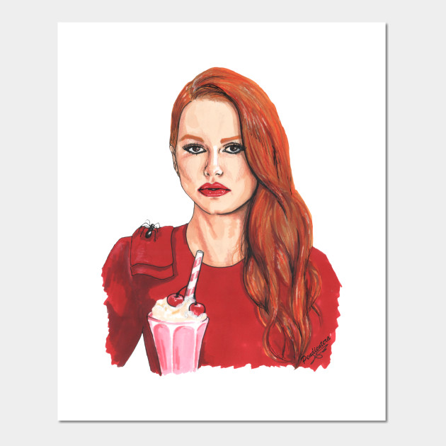 96acadffd9100c Cheryl Blossom - Riverdale - Posters and Art Prints | TeePublic