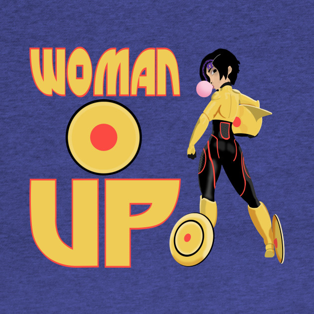 Woman Up!!!!