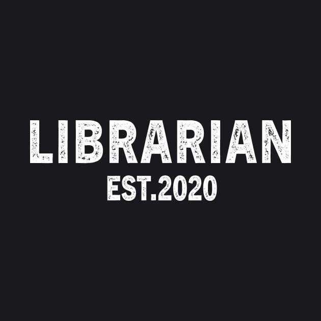 Librarian Est 2020 Graduation Gift