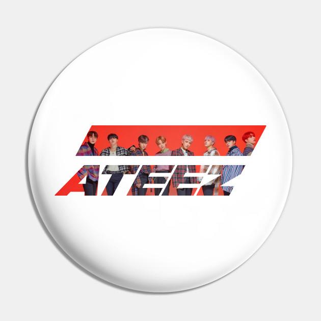 Ateez Logo Ateez Pin Teepublic