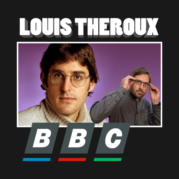 Louis Theroux BBC 90s Print