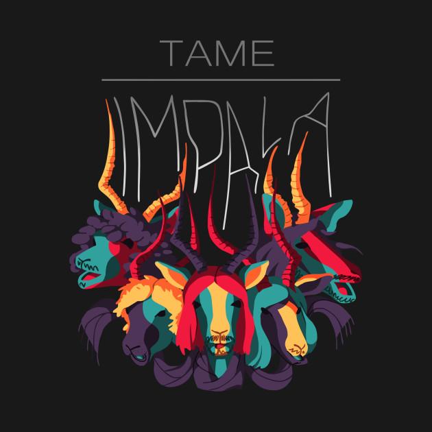 Tame Impala BLACK