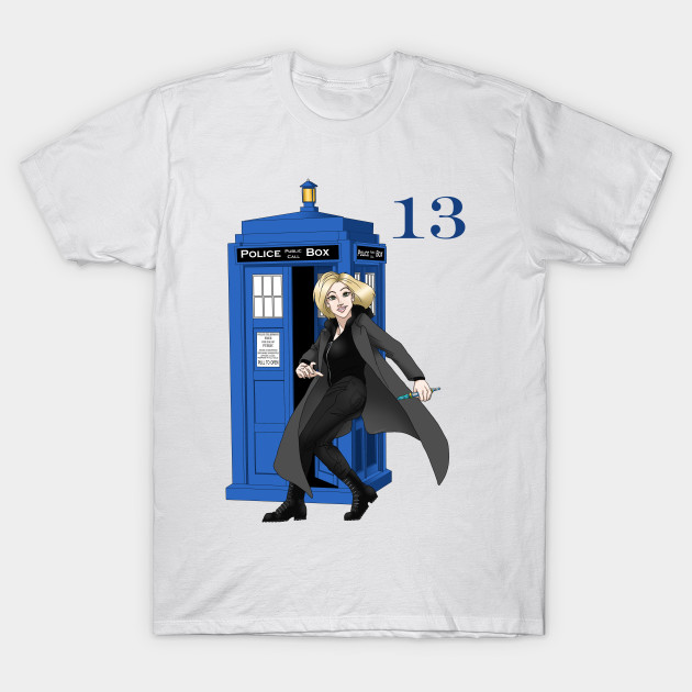 973dc6685 13th Doctor - Doctor Who - T-Shirt | TeePublic