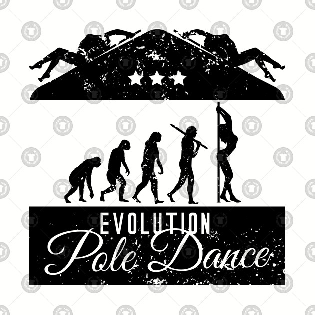 f5a251876b Evolution Pole Dance - Funny Pole Dance Gift - Baseball T-Shirt ...