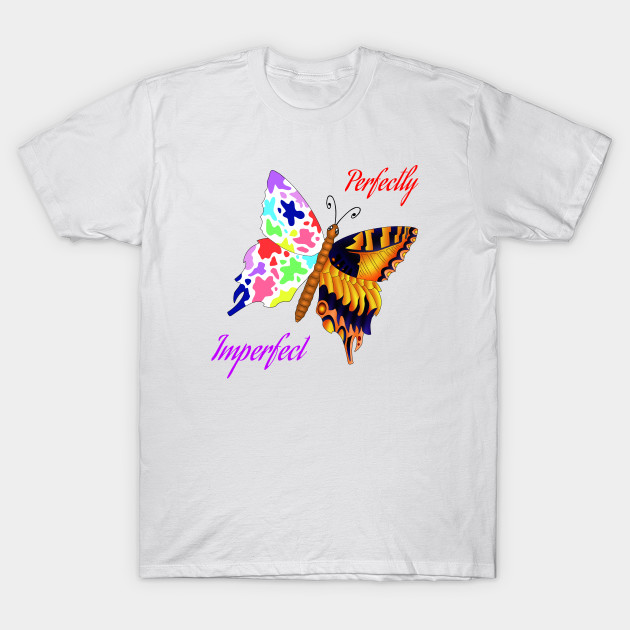 507104676fca Perfectly imperfect - Butterfy - T-Shirt