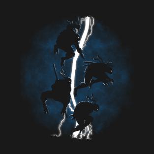 The Dark Ninja Return V.2 t-shirts