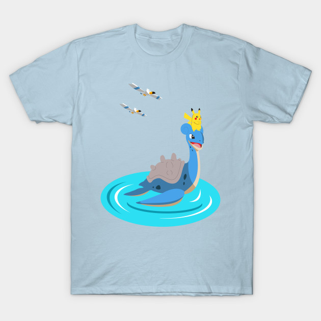 d7c6538e Surf Blue Shirt (Pokémon Go) - Pokemon Go Surf Blue - T-Shirt ...