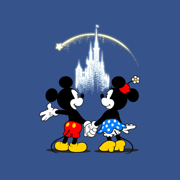 Making Wishes Come True - Disney - T-Shirt | TeePublic
