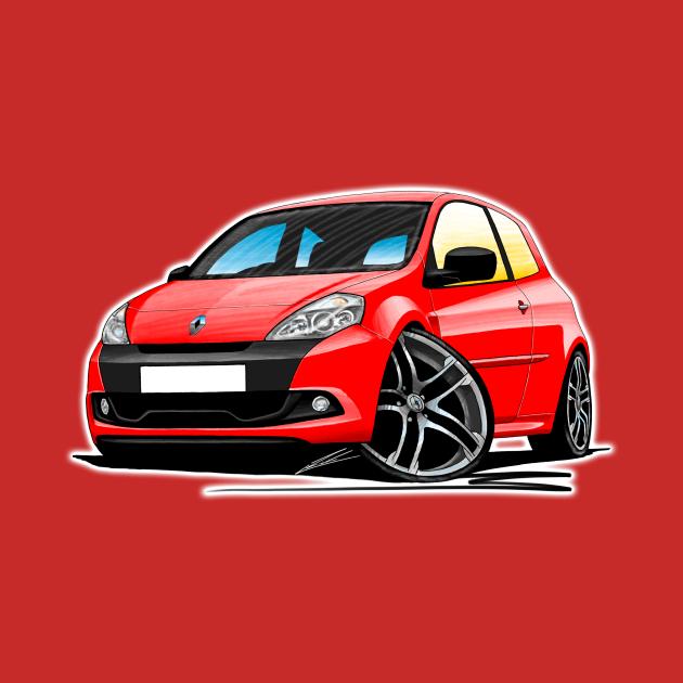 RenaultSport Clio 200 Red
