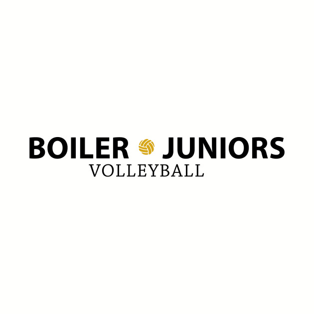 BJ logo with volleyball