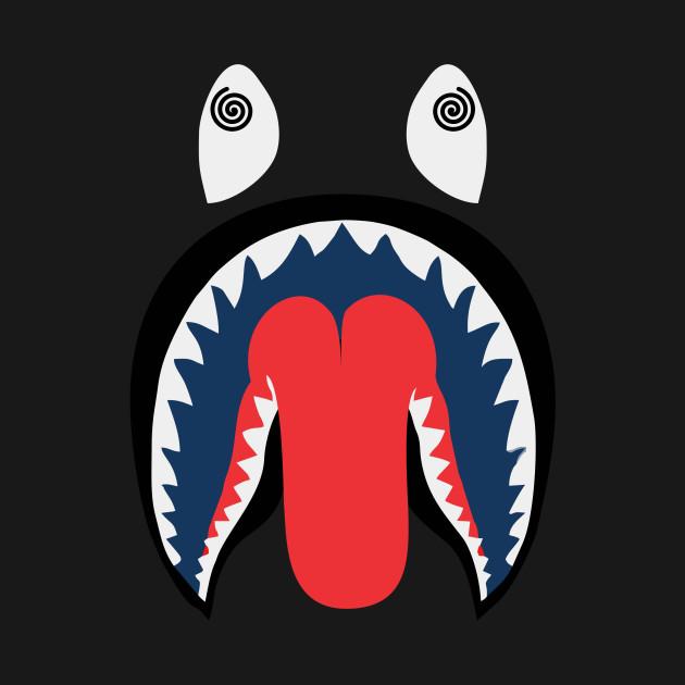 5d4bdc424010 Shark Mouth - Bape - Tank Top