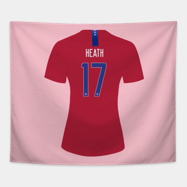 newest 1e7c3 f1e75 Heath - USA Womens Soccer Jersey