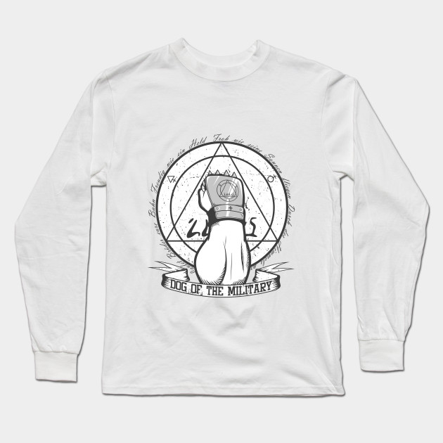 ada7b9a2 Dog of the Military: Strong Arm - Armstrong - Long Sleeve T-Shirt ...