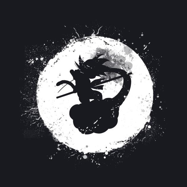 the moon of the saiyan