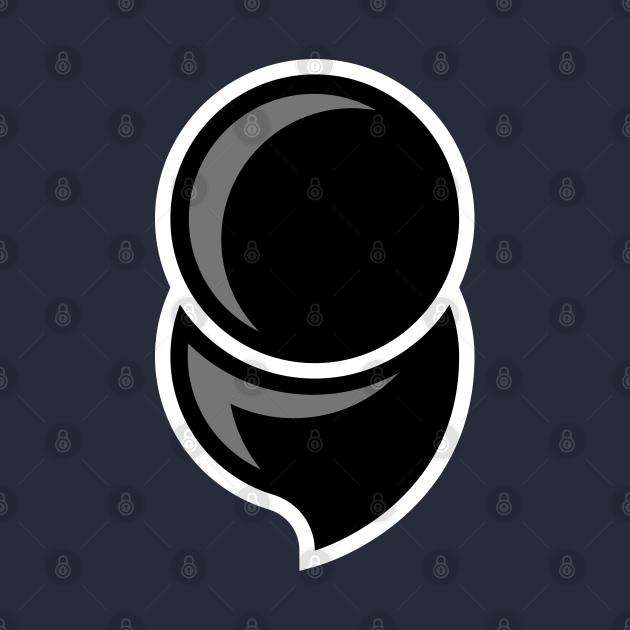 Mental Illness Semicolon BLACK