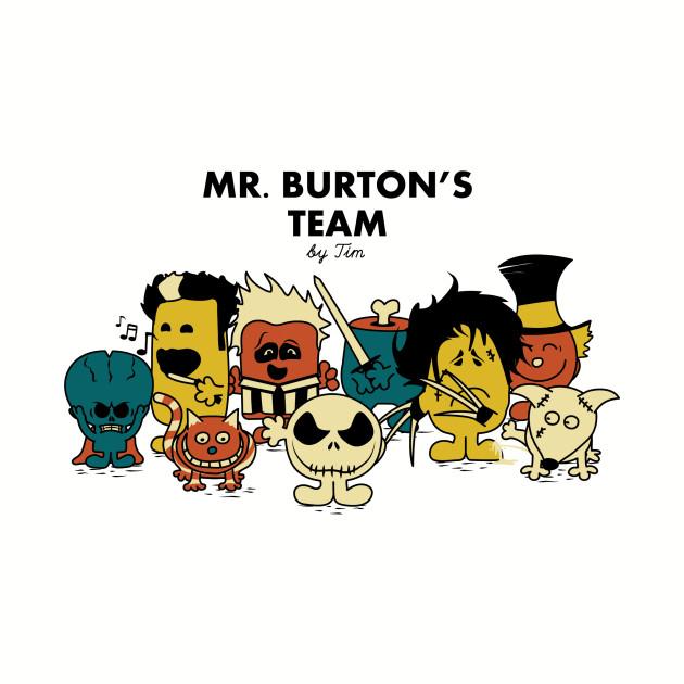 Mr Burton's Team