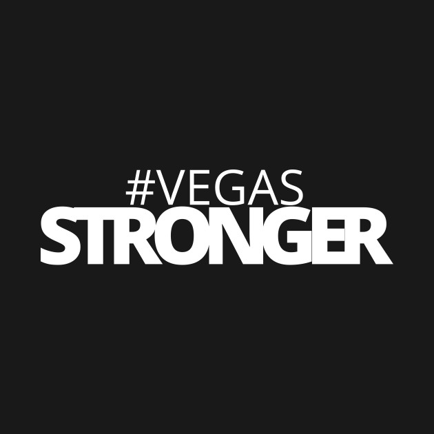 Vegas Stronger with graphic t-shirt