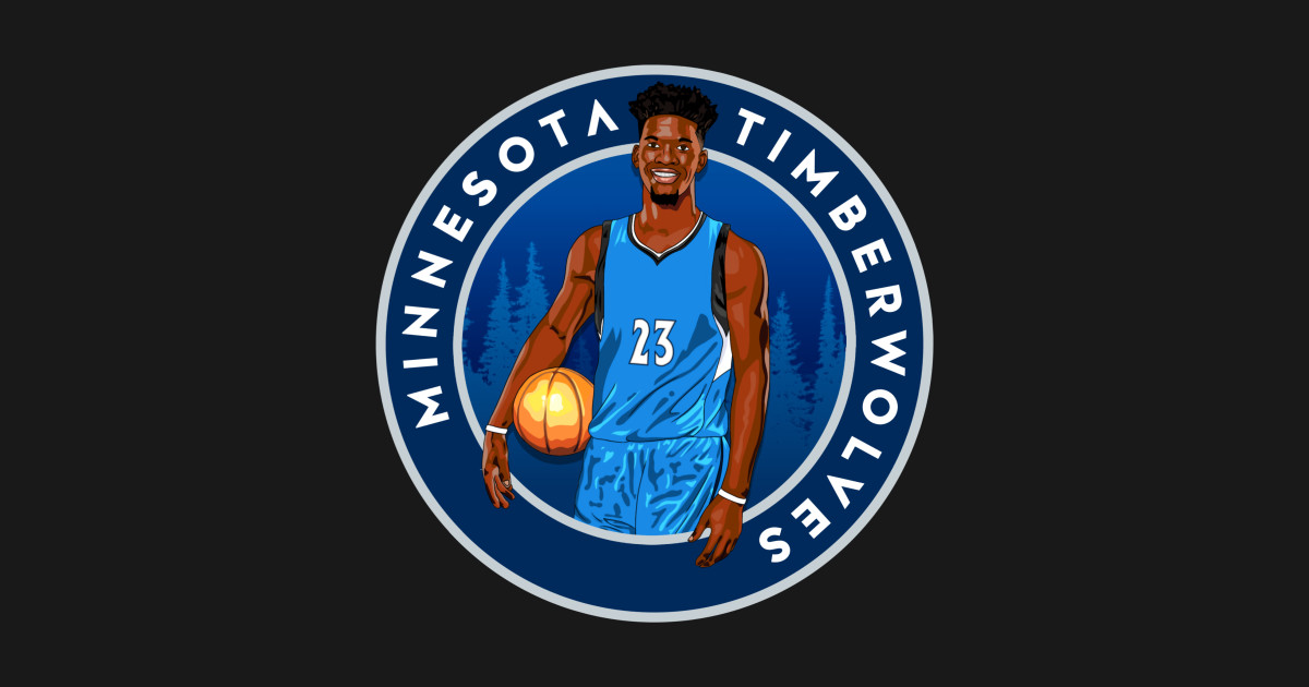 Jimmy Butler Minnesota Timberwolves Artwork Nba T