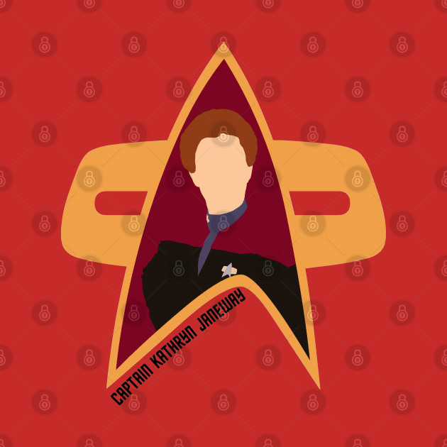 Captain Kathryn Janeway - Star Trek, Voyager