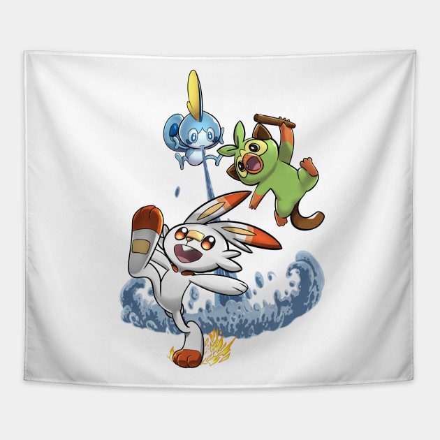 Pokemon Sword And Shield Pokemon Tapestry Teepublic